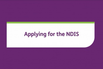 Applying for the NDIS