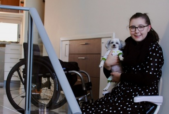 Cassandra says the NDIS has been absolutely life-changing