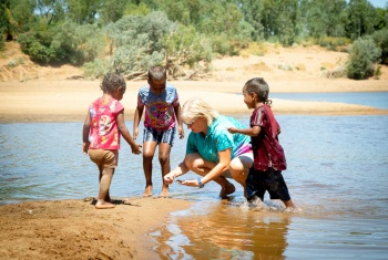 Indigenous women connect families across the Kimberley to NDIS